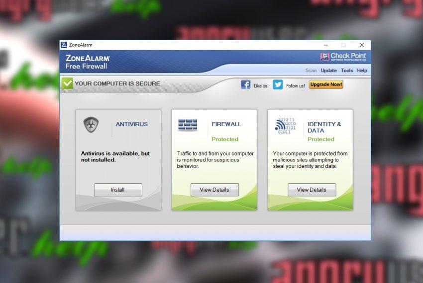 ZoneAlarm Free Firewall