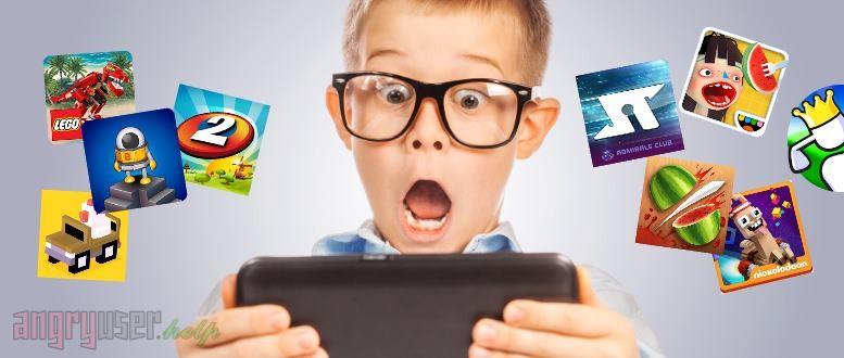 Детские игры для мобильных устройств