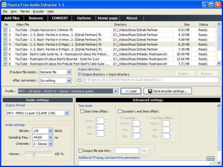 Лучший бесплатный конвертер видео/аудио файлов