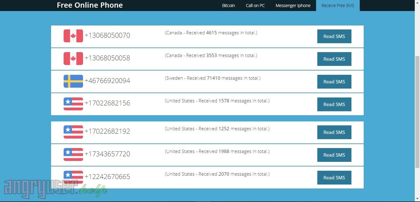 Лучшие бесплатные сервисы для приема SMS - Рисунок 7