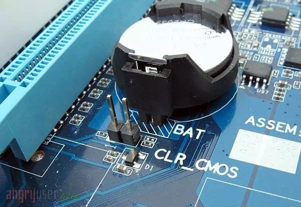 Рисунок - Сброс CMOS