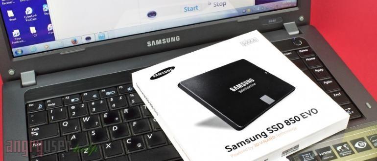 Перенос Windows на SSD