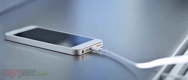 Как правильно заряжать смартфон и другие мобильные устройства - Баннер
